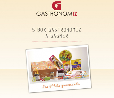 Box Gastronomiz les Ptits Gourmands à Gagner