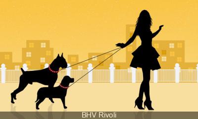 La Garderie pour chien du BHV Rivoli pour les soldes