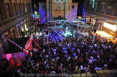 Bals des pompiers à Paris et en île de France 2013