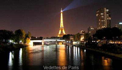 Feu d'artifice du 14 Juillet 2013 à bord des Vedettes de Paris