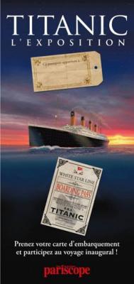 passeport découverte en famille, exposition titanic