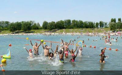 Village Sportif d'été de la Base de Loisirs de Vaires-Torcy