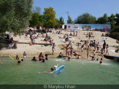 Achères plage 2013