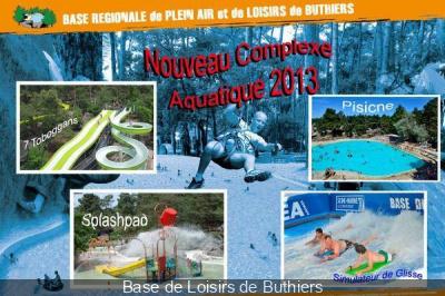 Base de loisirs de Buthiers et son nouveau complexe aquatique