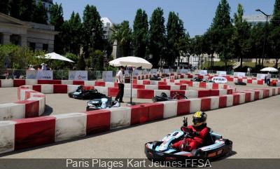 Karting à Paris Plages, Paris Plages Kart Jeunes FFSA