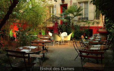 terrasses ombragées à Paris