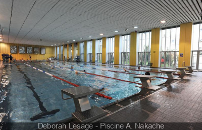 Les piscines parisiennes 20 me arrondissement for Alfred nakache piscine