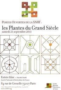 Portes Ouvertes de la SNHF pour la Fête des jardins 2013