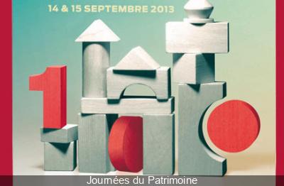 Les Journées du Patrimoine 2013 à Paris pour les enfants