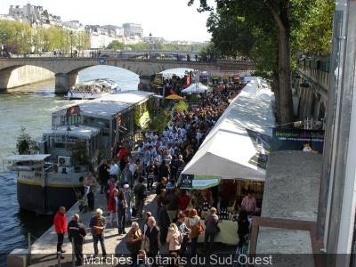 Les Marchés Flottants du Sud-Ouest 2013 à Paris