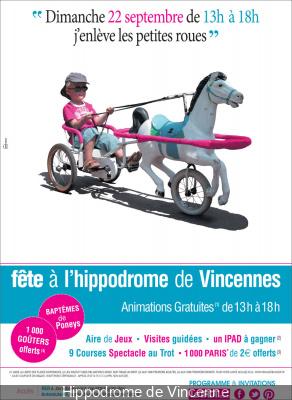 Fête à l'hippodrome de Vincenne