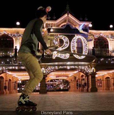 200 riders à Disneyland Paris