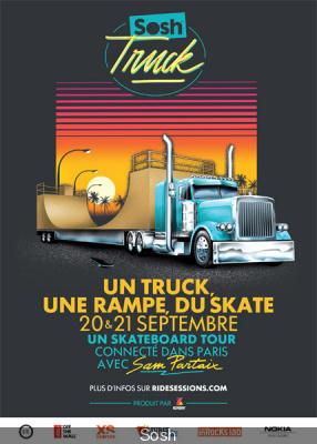 Sosh Truck débarque à Paris, jeu-concours