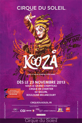 Kooza cirque du soleil paris 2013