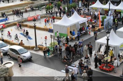 Bougez malin 2013, Place de République