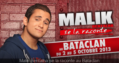 Malik Bentalha se la raconte au Bataclan