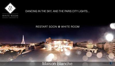 Soirées White Room à la Maison Blanche et son Bar à Champagne