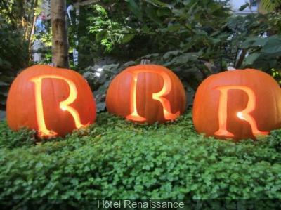 Atelier Halloween à l'Hôtel Renaissance Paris Trocadéro