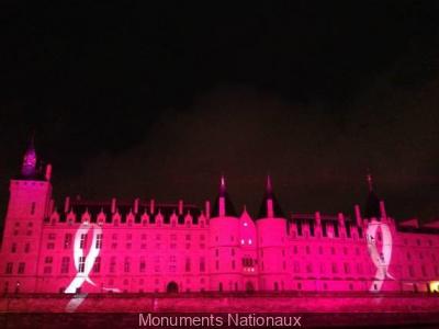Jardins d'Espoir et Conciergerie en rose pour Le Cancer du sein