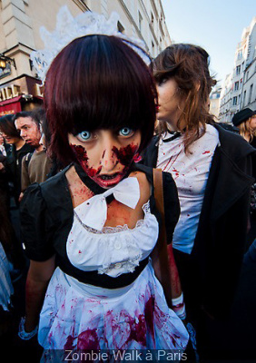 Zombie Walk à Paris