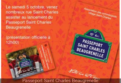 Passeport Saint Charles Beaugrenelle