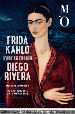 Frida Kahlo et Diego Rivera au Musée de l'Orangerie en 2013