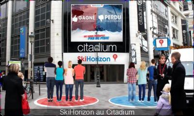 SkiHorizon au Citadium