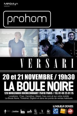 Prohom + Versari en concert