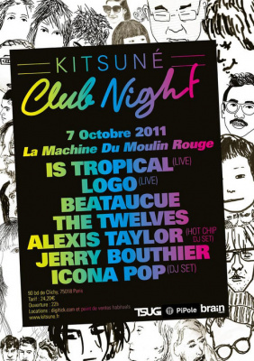 Kitsuné Club Nights @ La Machine du Moulin Rouge