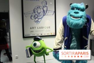 exposition Pixar Musée Art Ludique