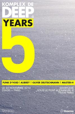 Komplex De Deep: 5 Years at Showcase
