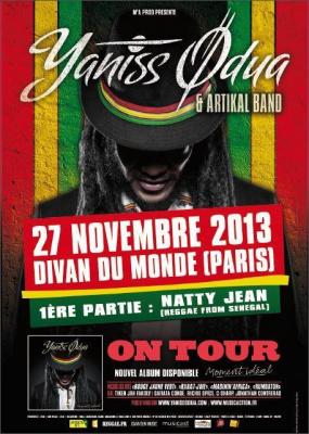 Yaniss Odua et Natty Jean à Paris