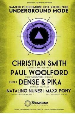 UNDERGROUND MODE : CHRISTIAN SMITH, PAUL WOOLFORD, DENSE & PIKA, NATALINO NUNES, MAXX PONY