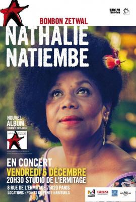 Nathalie Natiembé en concert