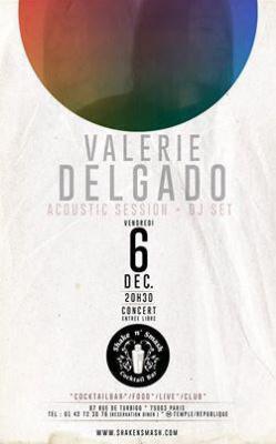Valerie Delgado- Acoustic Session
