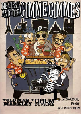 Me First and the Gimme Gimmes + Old Man Markley + Opium du Peuple