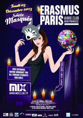 Erasmus Paris : Soirée Masquée