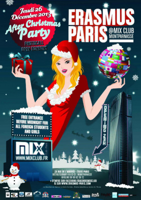 Erasmus Paris : After Christmas Party