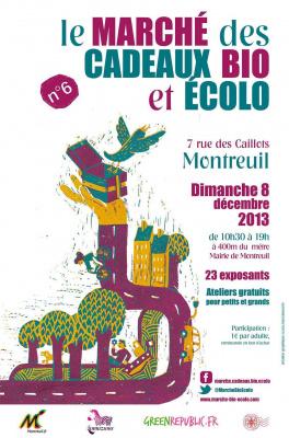 6e édition du Marché des cadeaux bio et écolo