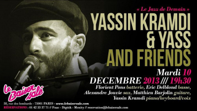 « Le Jazz De Demain » Yassin Kramdi & FRIENDS