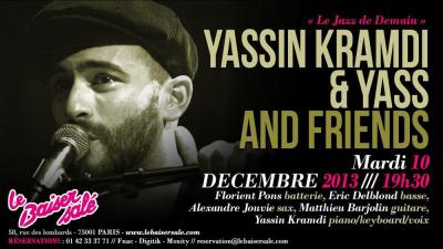 « Le Jazz De Demain » Yassin Kramdi & FRIENDS