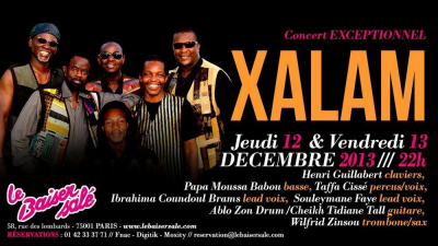 XALAM - Concert EXCEPTIONNEL