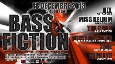 BASS FICTION w/ Kix