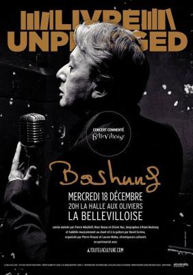 Concert commenté autour d'Alain Bashung