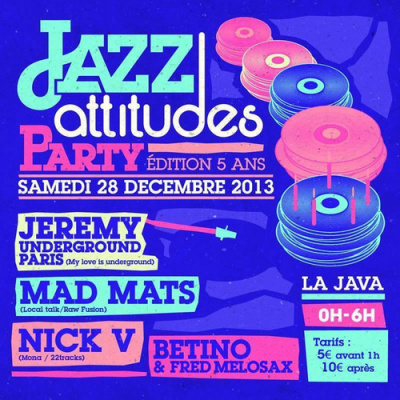 JAZZ ATTITUDES PARTY - 5 Years Anniversary
