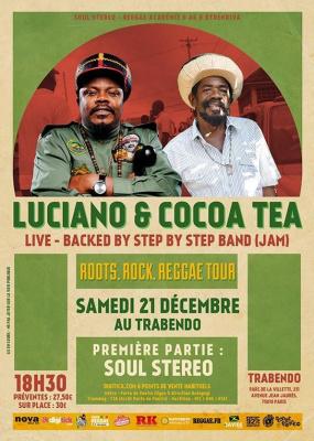 LUCIANO & COCOA TEA (Live)