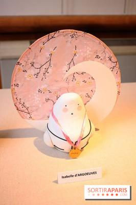 Exposition Okiagari Koboshi, les poupées japonaises au Chai de Bercy