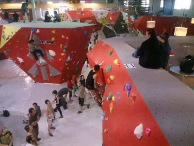 Hardbloc : Inauguration de la salle d'escalade