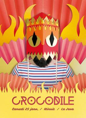 CROCODILE feat. Jolie Chérie, Dag Rox, Tom Junkfood et Yom Van Haver