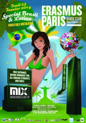 Erasmus Paris : Special Brasil & Latino